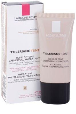 La Roche-Posay Toleriane Teint base cremosa hidratante  para pele normal a seca 1