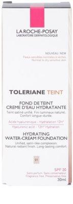 La Roche-Posay Toleriane Teint base cremosa hidratante  para pele normal a seca 3