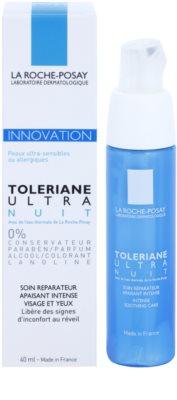 La Roche-Posay Toleriane Ultra nočna intenzivna pomirjevalna nega za obraz in oči 1