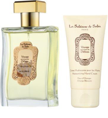 La Sultane de Saba Fleur d'Oranger dárková sada 1