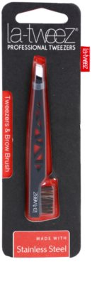 La-Tweez Professional Tweezers pinzas con cepillo