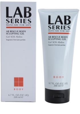 Lab Series Body gel fortificante para barriga e cintura 1