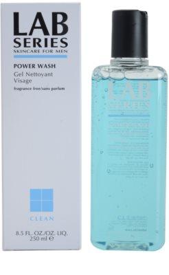 Lab Series Clean gel limpiador para pieles normales y grasas 1