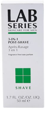Lab Series Shave gel after shave 3 em 1 2