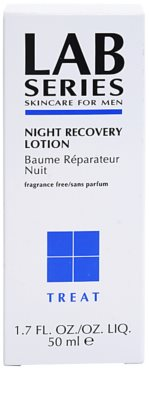 Lab Series Treat creme de noite renovador 2