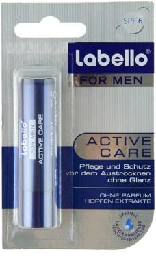 Labello Active Care balsam de buze pentru barbati