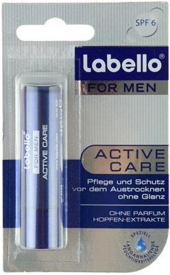 Labello Active Care balzam za ustnice za moške