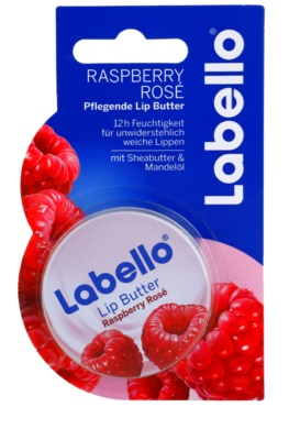 Labello Raspberry Rosé unt pe/pentru buze