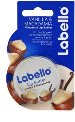 Labello Vanilla & Macadamia manteiga para lábios