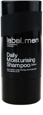 label.m Cleanse champú hidratante para lavar el cabello con frecuencia