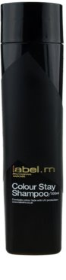 label.m Cleanse champô para cabelo pintado