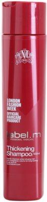 label.m Thickening čistilni šampon za volumen