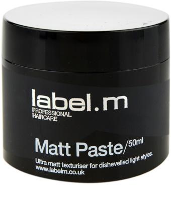 label.m Complete pasta matificante para dar definición y mantener la forma