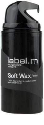 label.m Complete vosk na vlasy střední zpevnění 1