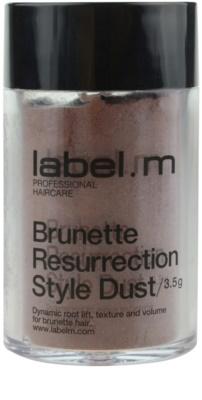 label.m Complete Haarpuder für braune Farbnuancen des Haares