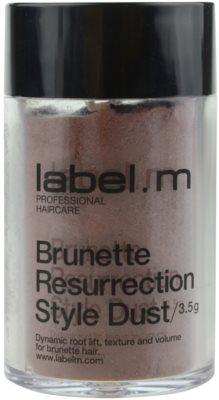 label.m Complete пудра за коса за коса с кафяви нюанси