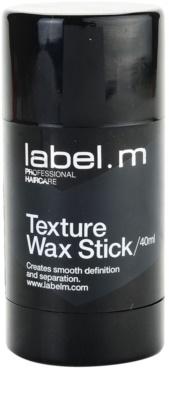 label.m Complete Haarwachs für höheren Glanz
