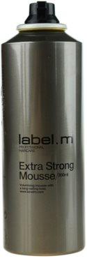 label.m Create пінка для волосся екстра сильної фіксації 1