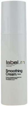 label.m Create krema za glajenje za suhe in poškodovane lase
