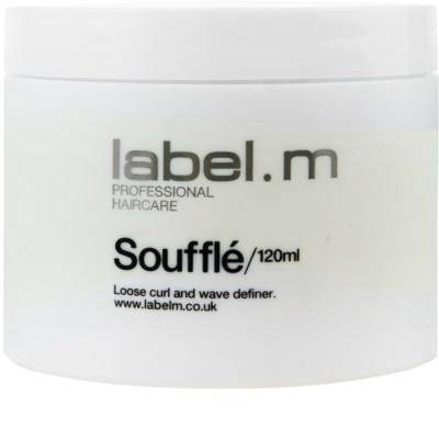 label.m Create Soufflé für Volumen und Glanz