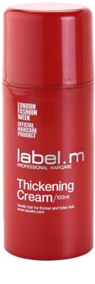 label.m Thickening Haarcreme für Volumen und Form