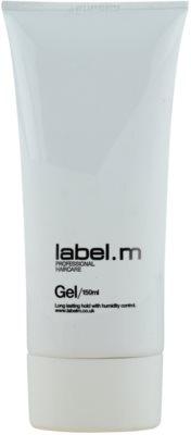 label.m Create gel de cabelo fixação média