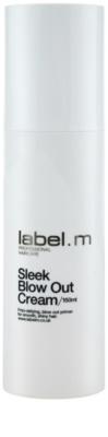 label.m Create crema alisado protector de calor para el cabello