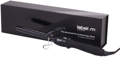 label.m Electrical The Advanced Pro Curling Tong 19 mm lokówka do włosów 1