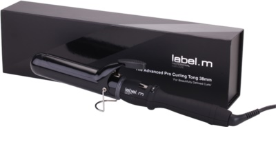 label.m Electrical  The Advanced Pro Curling Tong 38 mm ondulator pentru par 1