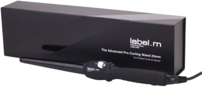 label.m Electrical The Advanced Pro Curling Wand 25 mm hajsütővas 1