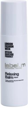 label.m Hair Care Balsam für unnachgiebige und strapaziertes Haar