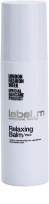 label.m Hair Care balsam pentru par indisciplinat