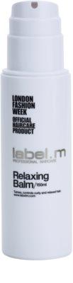 label.m Hair Care bálsamo para cabelos crespos e inflexíveis 1