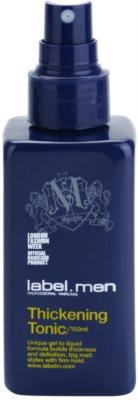 label.m Men tonic pentru par densitatea parului 1