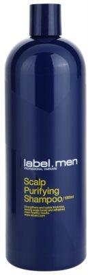 label.m Men champú limpiador para cabello y cuero cabelludo