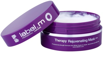 label.m Therapy  Age-Defying ревитализираща маска  За коса 1