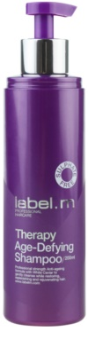 label.m Therapy  Age-Defying stärkendes Shampoo 1