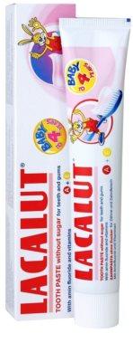 Lacalut Junior Zahnpasta für Kinder 1
