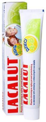 Lacalut Junior pasta de dientes para período de cambio de los dientes de leche por los permanentes 1