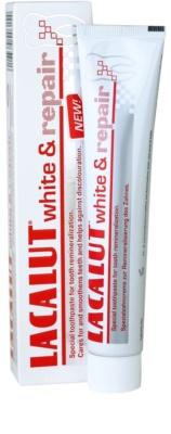 Lacalut White & Repair pasta de dientes para renovar el esmalte dental 1