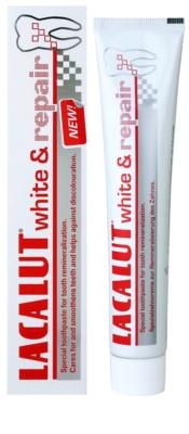 Lacalut White & Repair pasta de dientes para renovar el esmalte dental 2