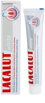 Lacalut White Zahnpasta mit bleichender Wirkung 1