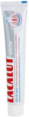 Lacalut White зубна паста з відбілюючим ефектом