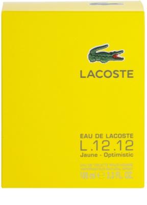 Lacoste Eau de Lacoste L.12.12. Jaune (Yellow) eau de toilette para hombre 4