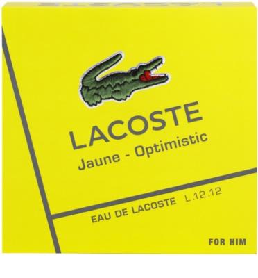 Lacoste Eau de Lacoste L.12.12. Jaune (Yellow) dárková sada 1