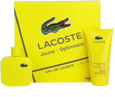 Lacoste Eau de Lacoste L.12.12. Jaune (Yellow) darilni set