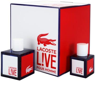 Lacoste Live Male ajándékszettek