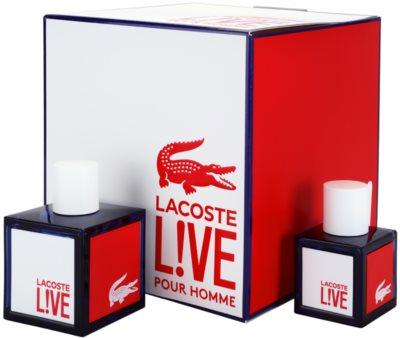 Lacoste Live Male coffrets presente