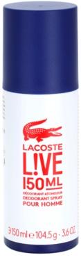 Lacoste Live Male Deo-Spray für Herren