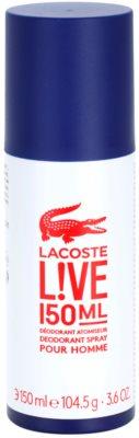Lacoste Live Male dezodor férfiaknak